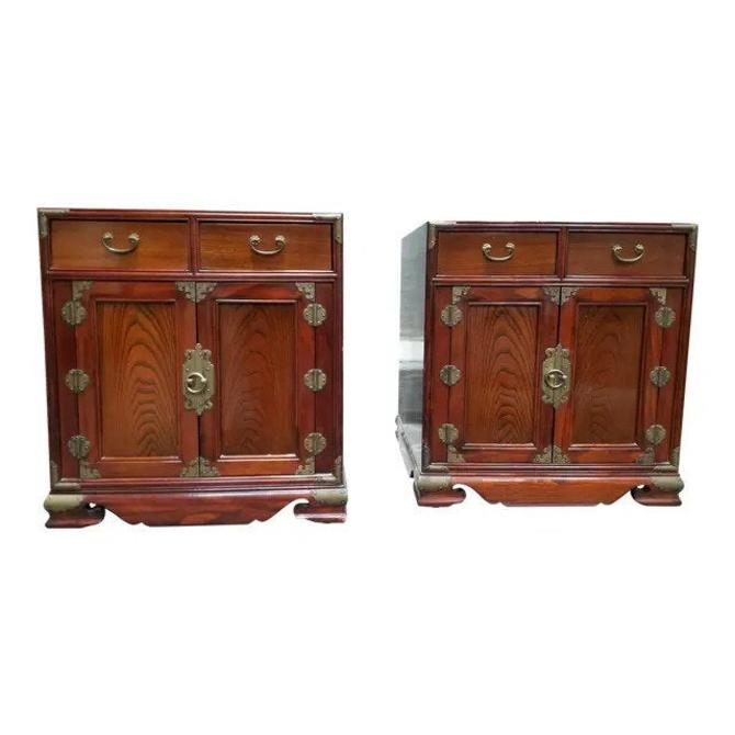 Exotic Wood Asian Style End by JanakosAndCompany