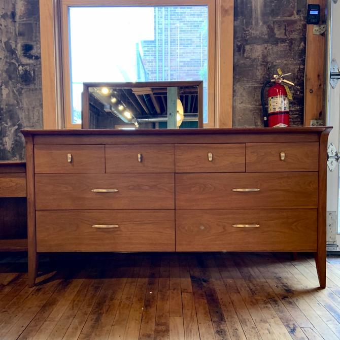 "Drexel ""Profile"" Mid-Century Lowboy Dresser"