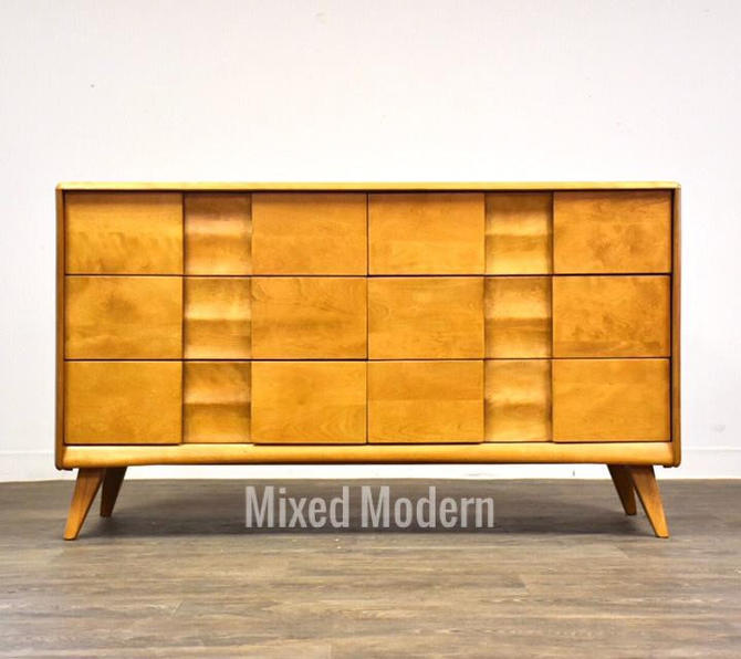 Solid Maple Heywood Wakefield Dresser by mixedmodern1