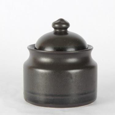 Pfaltzgraff Midnight Sun Sugar Bowl with Lid, 514364, Sugar Holder, Vintage Glassware, Sugar and Creamer Set, Pfaltzgraff, Midnight Sun by 1882BlueVintage