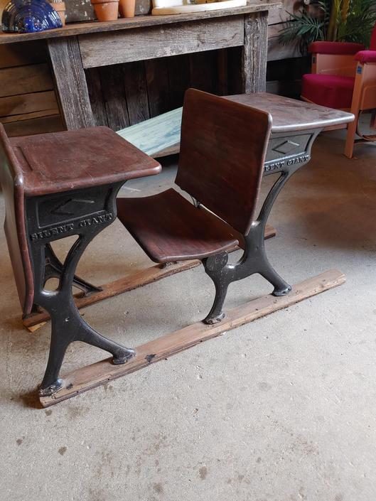 Vintage Silent Giant school desk