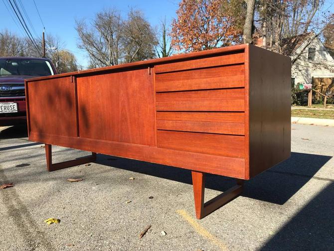 Danish Teak Credenza Kurt Ostervig Sideboard No.119 KP Mobler Vintage Mid-Century Modern