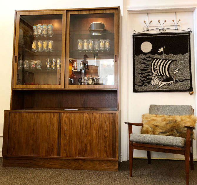 Poul Hundevad Rosewood Wall Unit