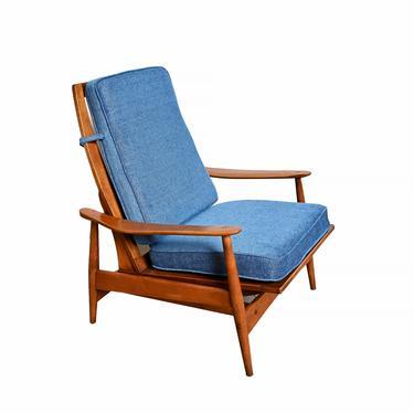 Lounge Chair Rocker Milo Baughman Style Lounge Chair by HearthsideHome