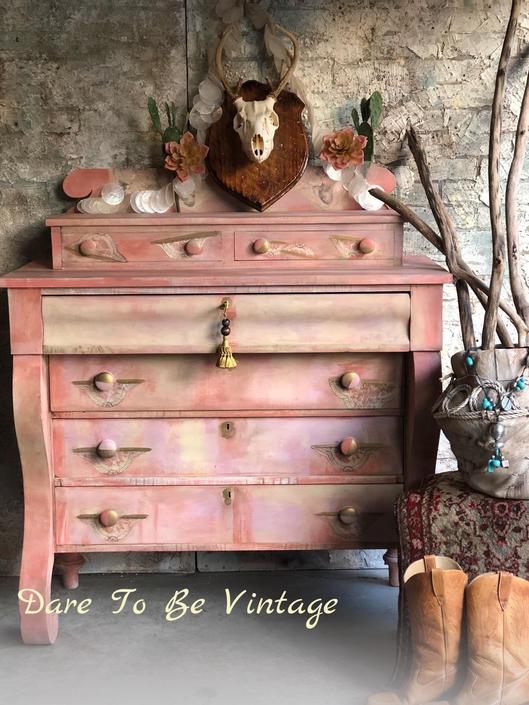 Bohemian Dresser Painted