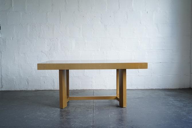 T.H. Robsjohn-Gibbings for Widdicomb Extendable Dining Table