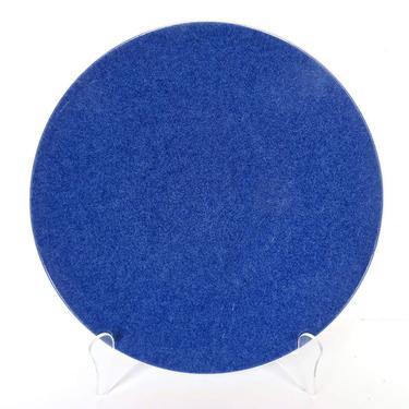 Single Massimo Vignelli Sasaki Colorstone Sapphire Blue Salad Plate, Post Modern Dishes, Sasaki Blue Dishes by HerVintageCrush