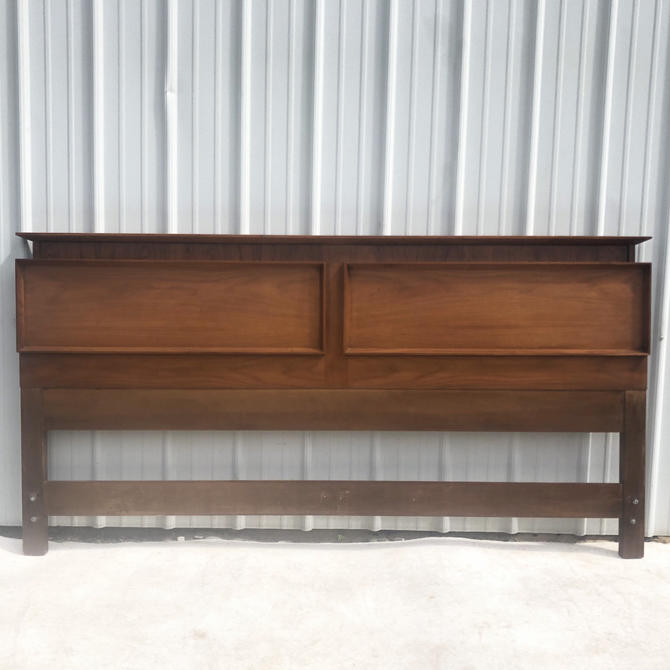Mid-Century Modern King Size Headboard by secondhandstory