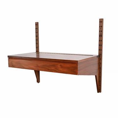 CADO Wall Unit Desk Top Vanity Walnut  Cado Danish Modern by HearthsideHome