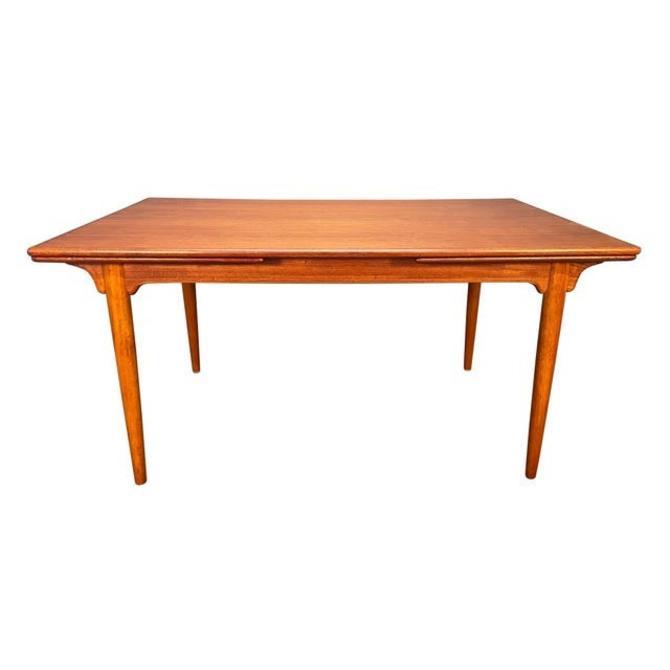 Vintage Danish Mid Century Modern Teak Dining Table Model#54 by Gunni Omann by AymerickModern