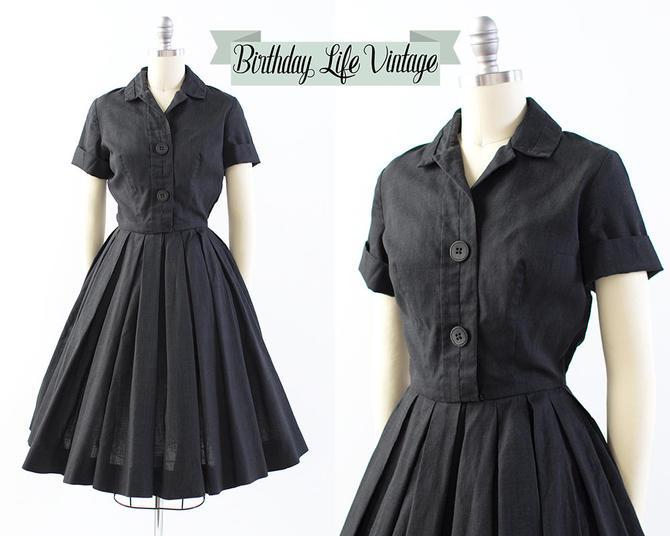 30f9524d4d3 Vintage 1950s Dress