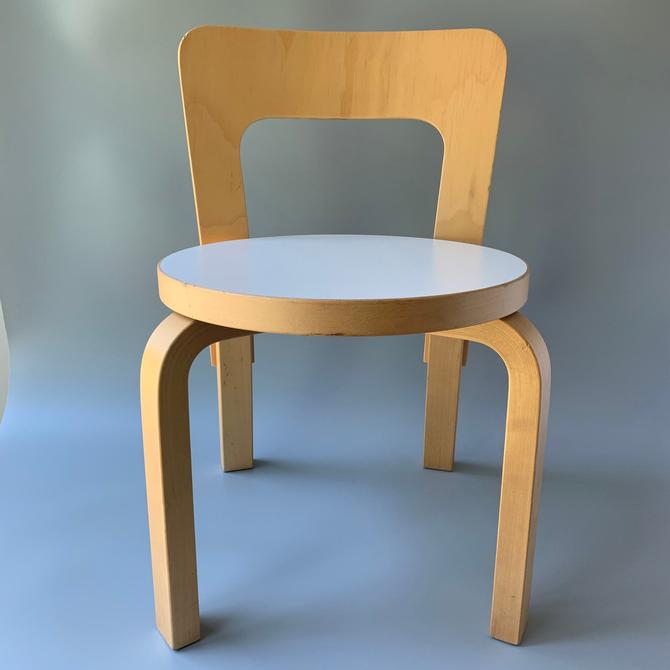 Alvar Aalto Child's #65 Chair by Artek (G) by HomeAnthology