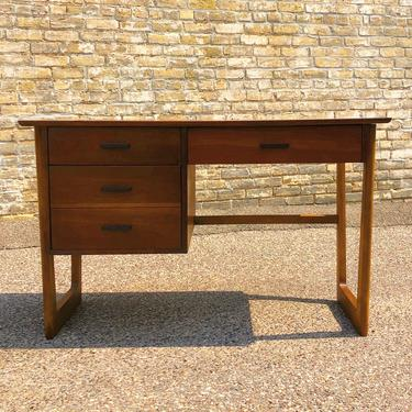 3-drawer Walnut Desk