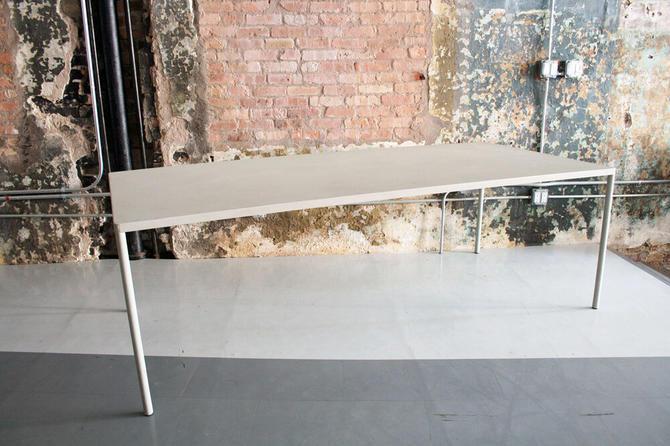 Modernist Metal Dining Table