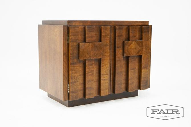 Lane Brutalist Nightstand