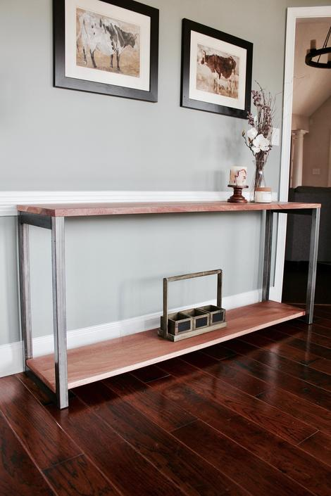The EVERLY Sofa / Buffet Table - Multiple Sizes - Wood + Steel by arcandtimber