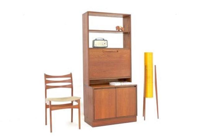Mid Century Display Cabinet/Bookcase by Alfred Cox Ltd. by SputnikFurnitureLLC