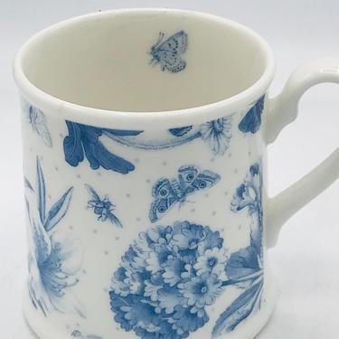 Vintage Portmeirion Blue Botanic Garden Coffee Mug by JoAnntiques