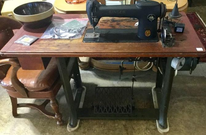 Vintage Singer Sewing Machine Table available at Habitat for Humanity Restore Rockville for $595