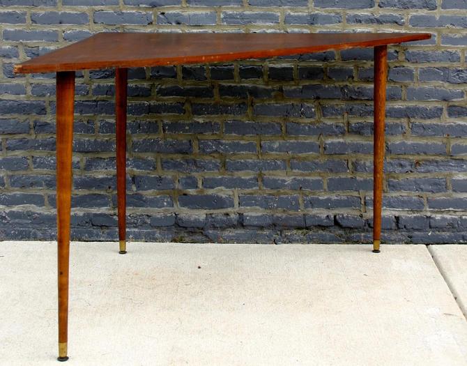 MidCentury Modern Teak Corner Table From Barefoot Dwelling ATTIC - Mid century modern corner table
