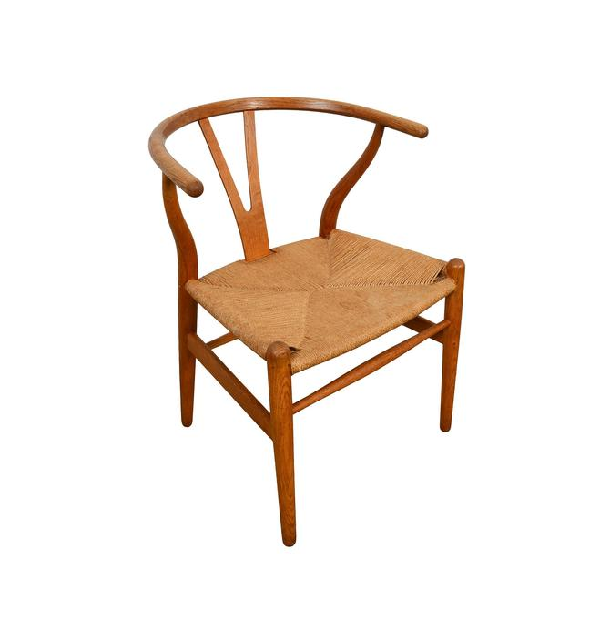 Hans Wegner Wishbone Chair Carl Hansen CH24 by HearthsideHome