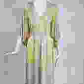 Emilio Pucci Vintage Silk V Neck Kimono Sleeve Day Dress