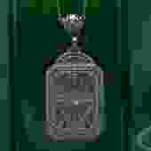 Diamond Camphor Glass Necklace c1920
