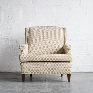 Classic Floral Armchair