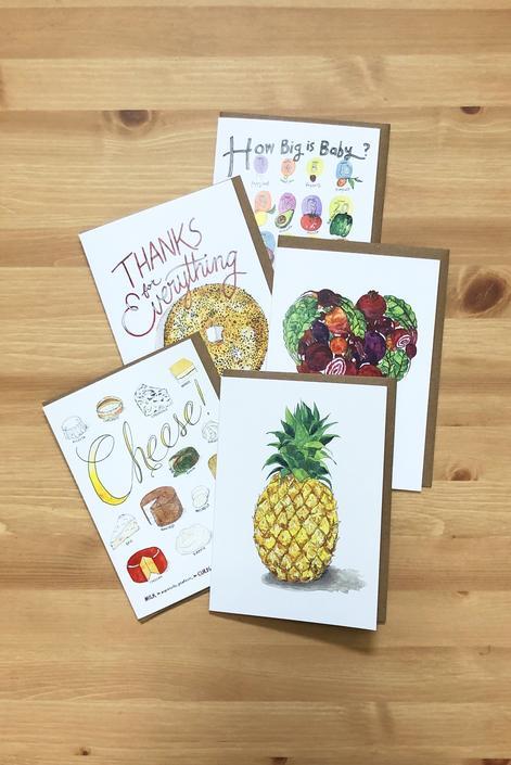 New! Greeting Card Surprise Set (Buy 4 get 1 free)