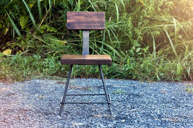 FREE SHIPPING - Coppersmith Reclaimed Wood Industrial Style Bar Stools by BarnWoodFurniture