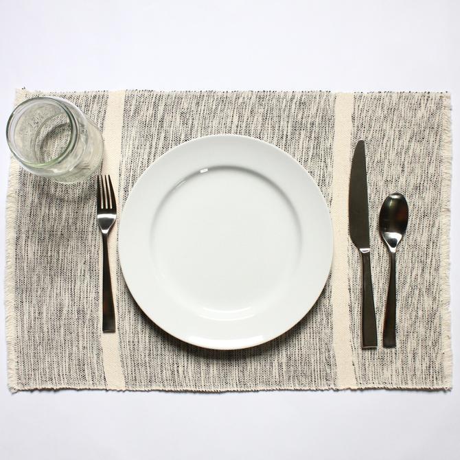 INDI Placemats | Mixed Grey