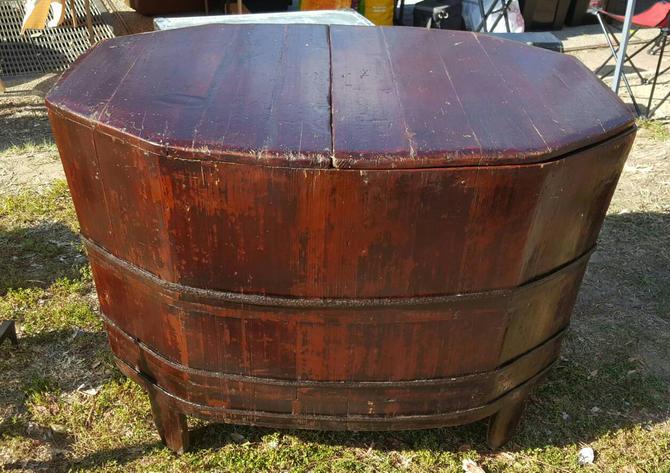 Rare Antique 19th Century Large Wooden