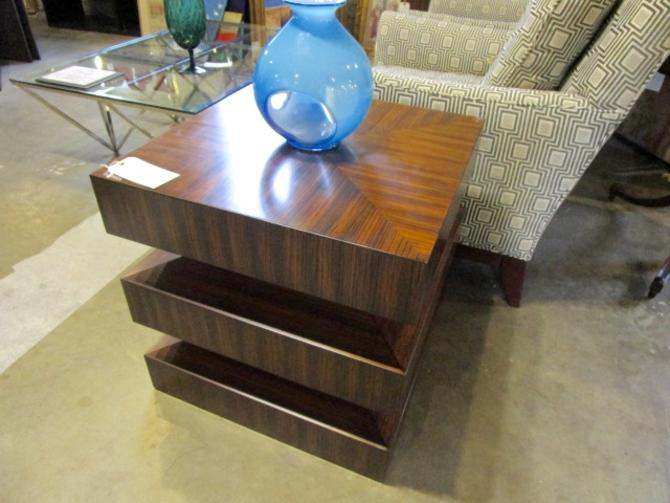 """PAIR PRICED SEPARATELY GLOBAL VIEWS """" DRAW ATTENTION""""  SIDE TABLES"""