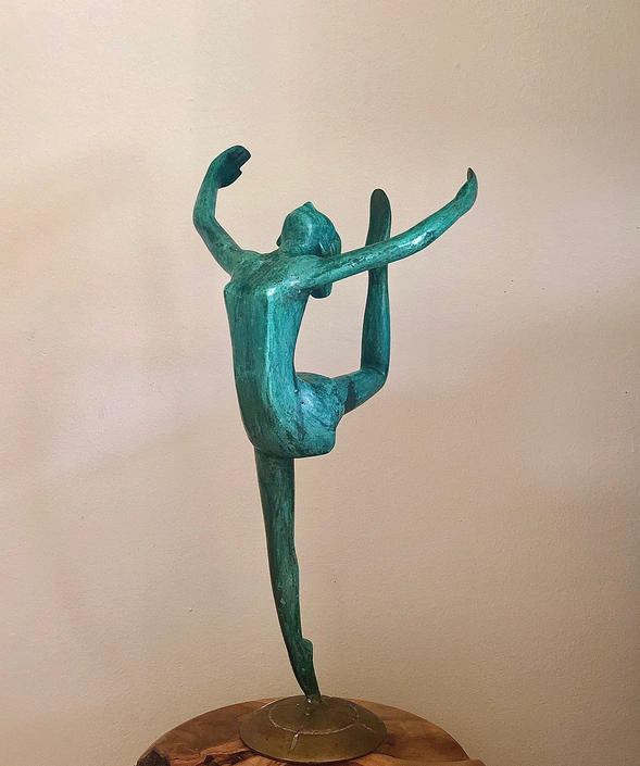 Art Deco Sculpture by BigWhaleConsignment