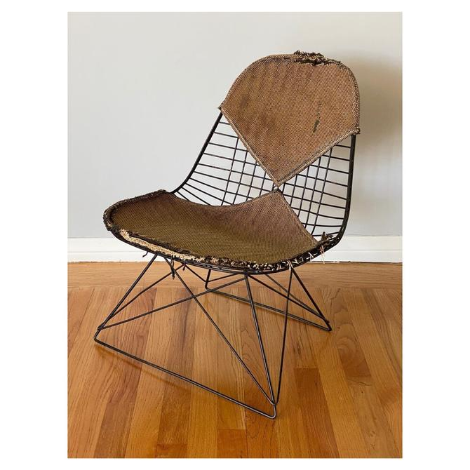 (AVAILABLE) Early Eames Cats Cradle LKR-2 Chair