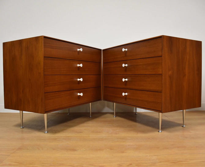 George Nelson for Herman Miller Thin Edge Dresser Chests - A Pair by mixedmodern1
