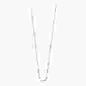 """17.7"""" Classic Gigi Necklace - BABY BLUE + YELLOW GOLD"""