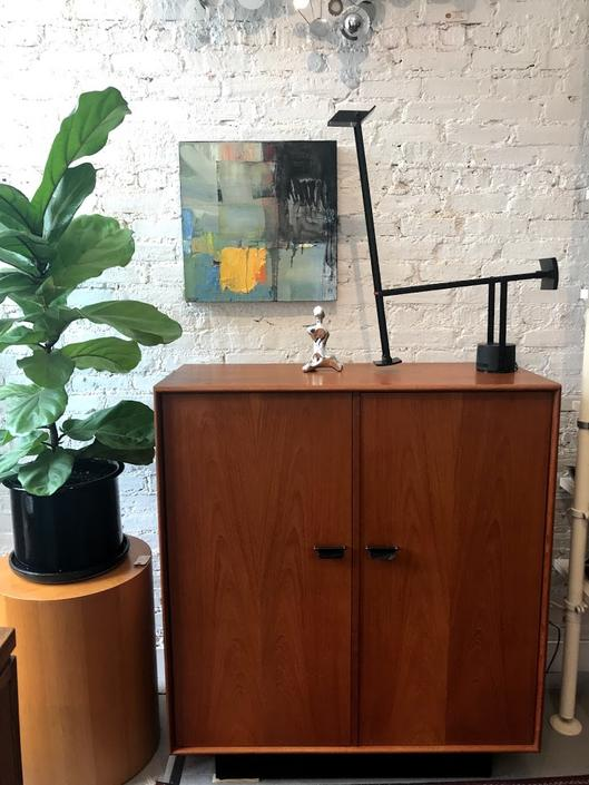 Vintage Teak Wardrobe / Highboy Dresser by Inter-Continental Design