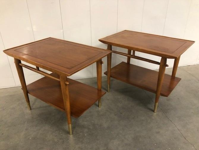 Pair of Lane End Tables — 0681
