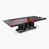 """Brueton """"Athens"""" Collection Dining or Conference Table In Exotic Mentose Wood"""
