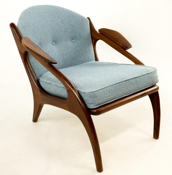 SALE!! Adrian Pearsall for Craft Associates 2249-C Walnut Lounge Chair by ModernHill