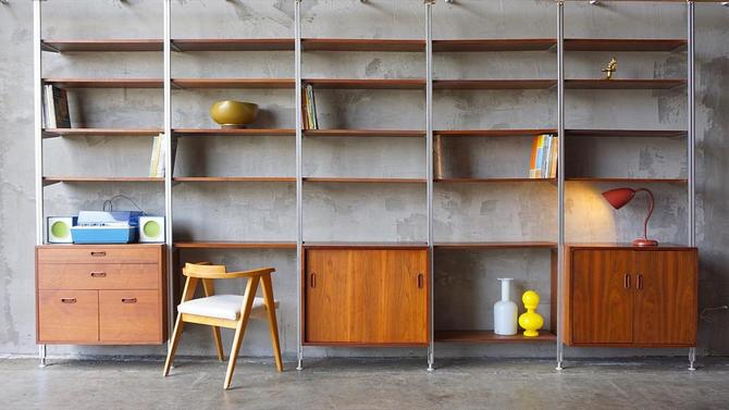 George Nelson 'Omni' Shelving by FandFVintage