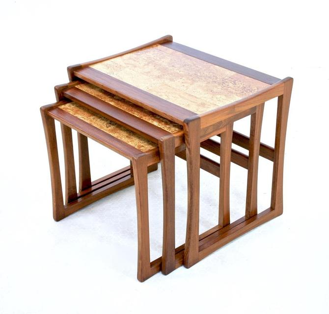 Mid Century Nesting Tables by G Plan - FREE SHIPPING by SputnikFurnitureLLC