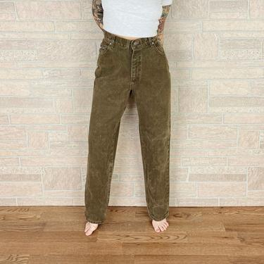 Vintage LEE Riveted High Rise Jeans / Size 32 by NoteworthyGarments