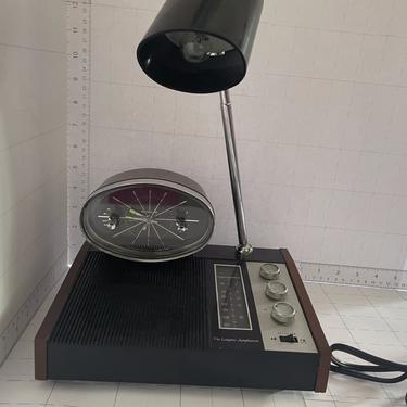 18953848 - ATOMIC CLOCK AND RADIO LIGHT - LONGINES SYMPONETTE - MID MOD ACCESSORIES