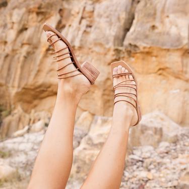 Ines Sandal - Tan