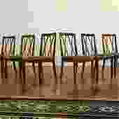 G-Plan Curved Back Dining Chairs