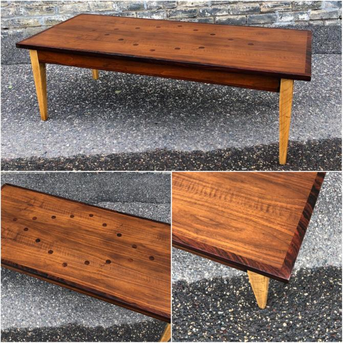 Lane Coffee Table With Rosewood Accents