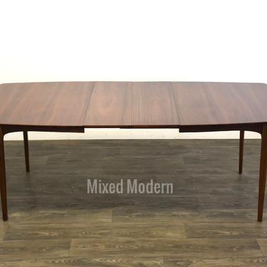 Mid Century Walnut Dining Table by mixedmodern1