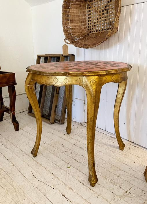 French Gold Table